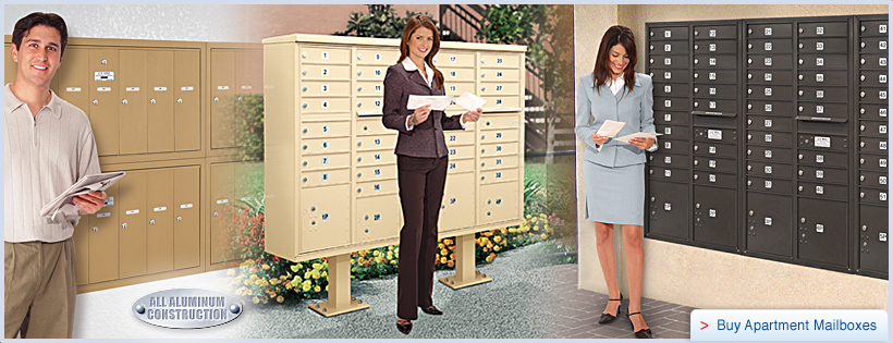 We offer the largest selection of mailboxes (apartment, residental ...